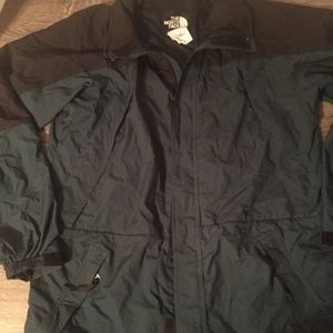 Mens Vintage The North Face Jacket W/ Stow Hood